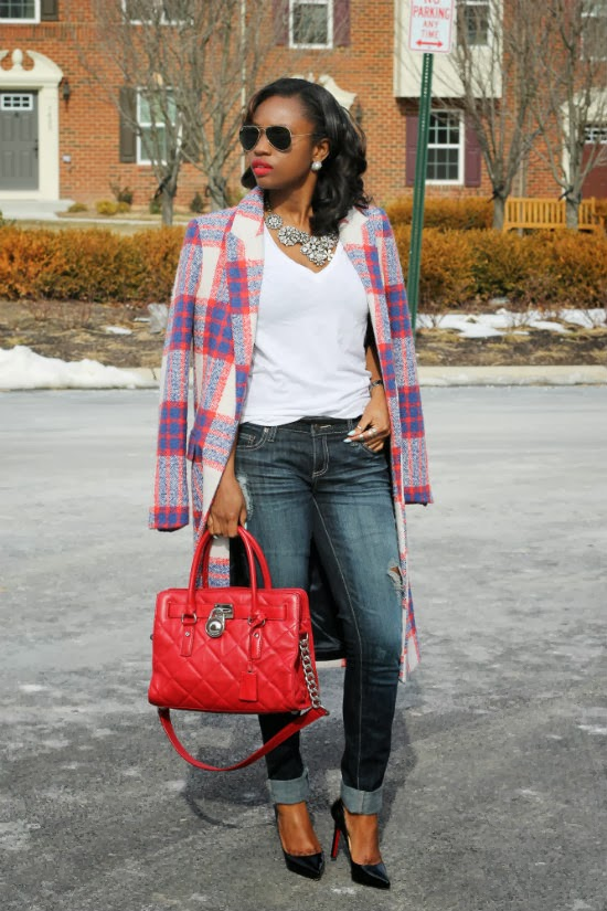 Zara checkered coat (2)