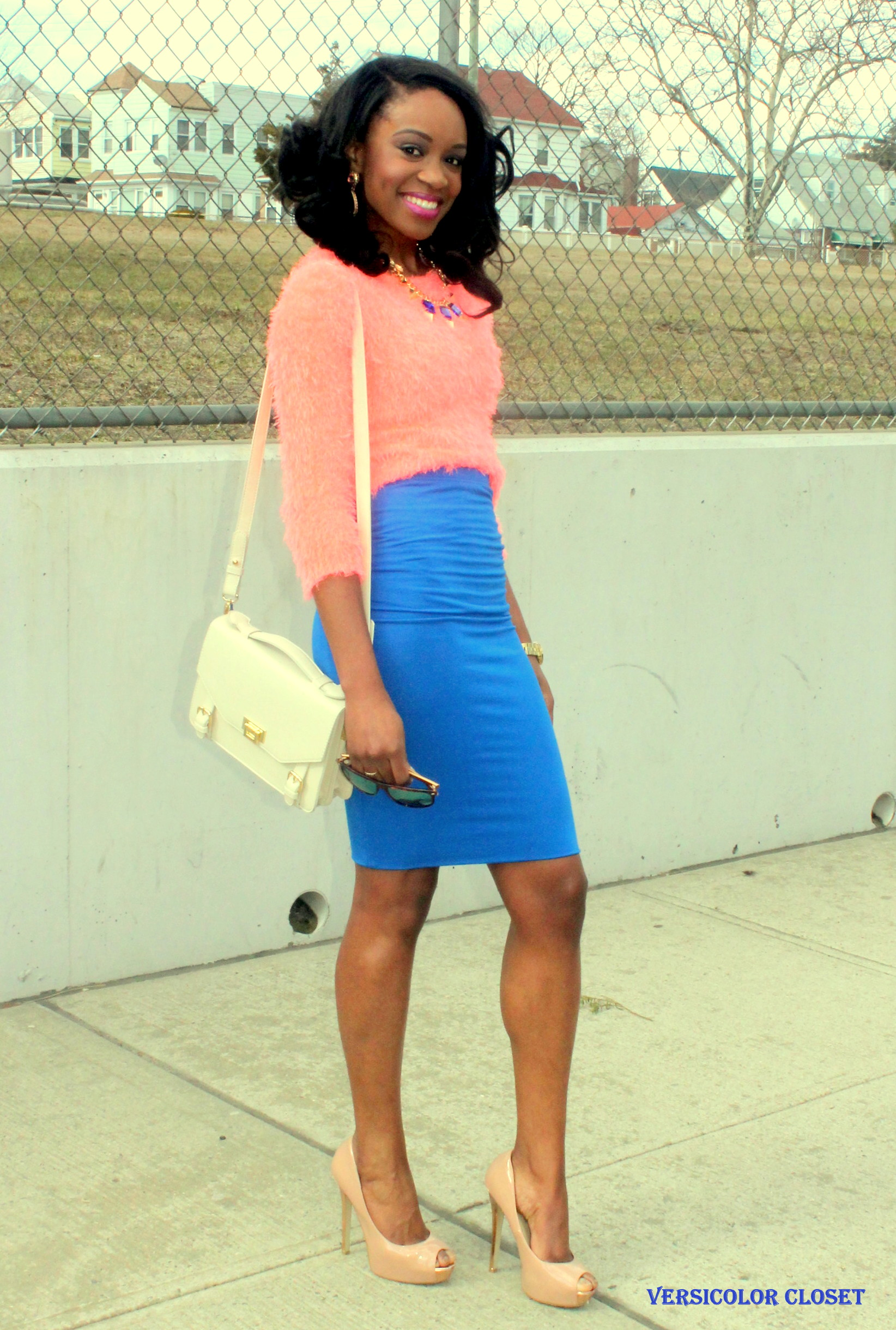 Colorblock - pink and blue (3)
