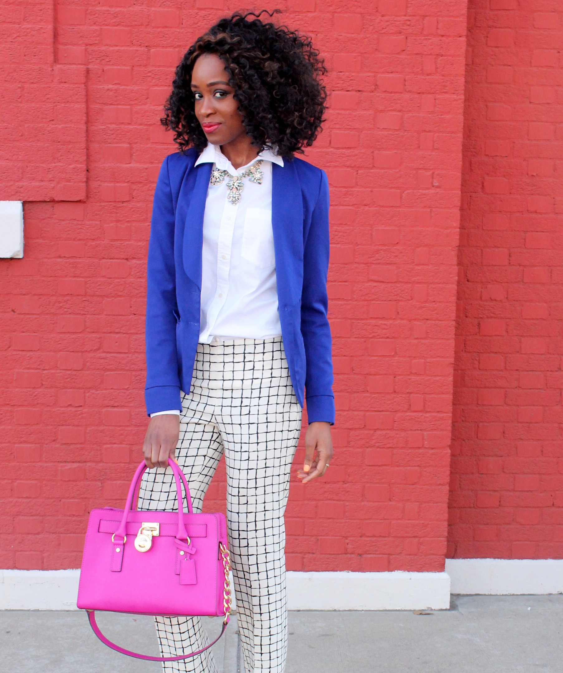 Wide leg trousers + blazer (3)