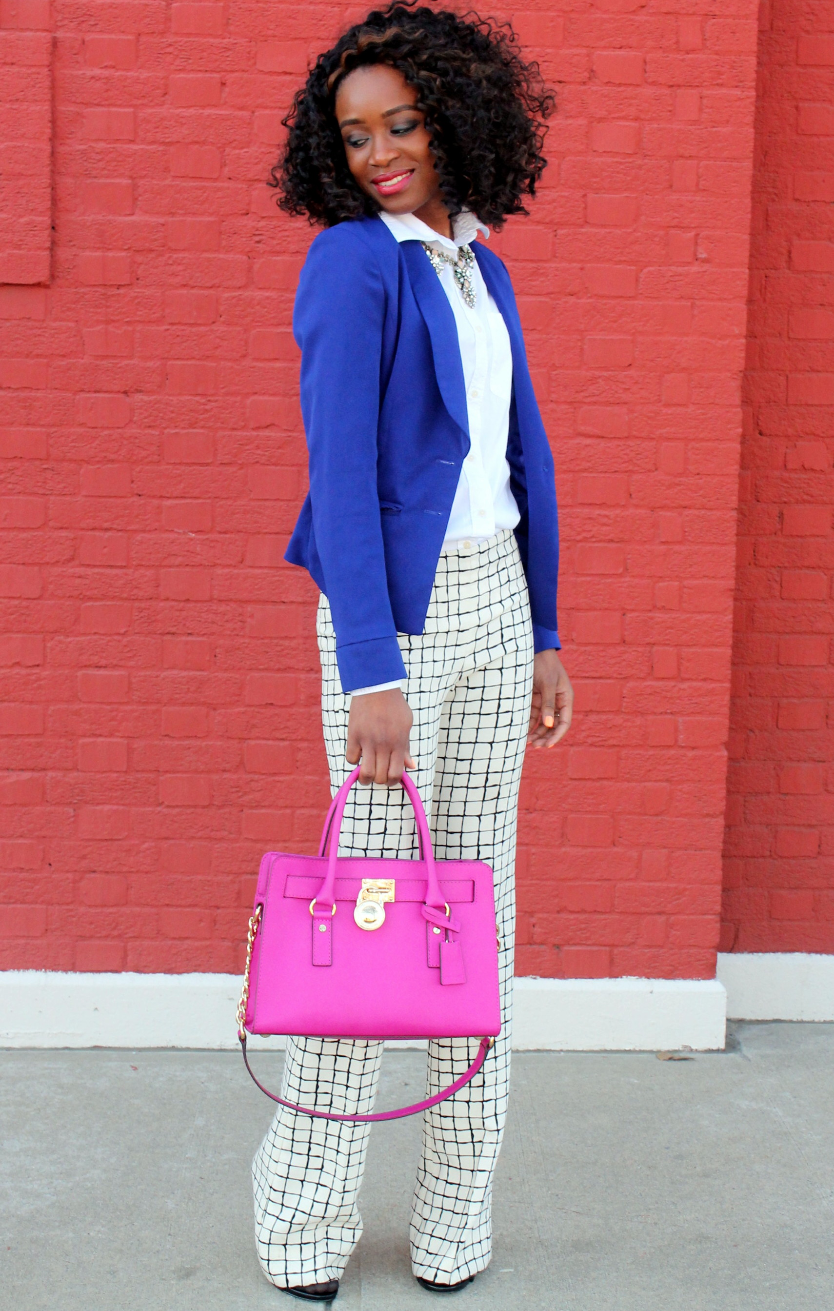 Wide leg trousers + blazer (4)