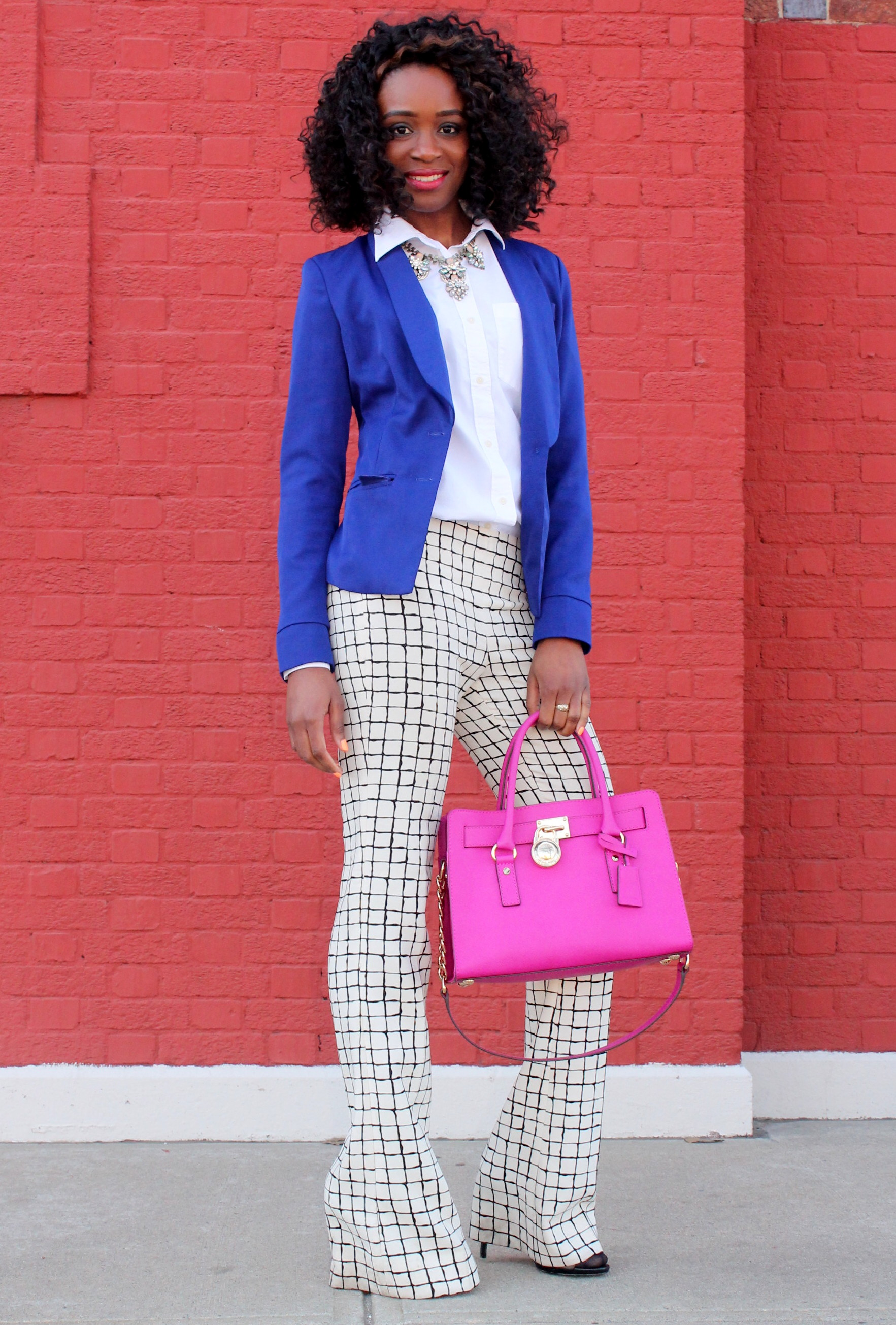 Wide leg trousers + blazer (6)