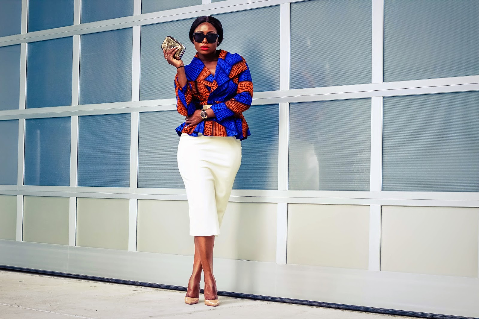Love life pearls - Yetunde Sarumi suit