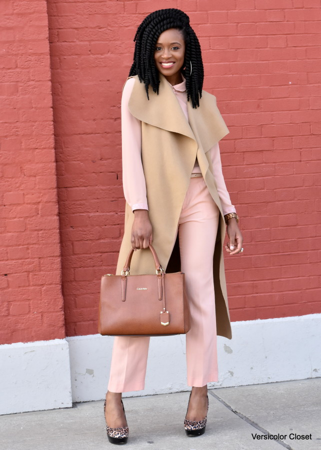 Blush trousers & top (7)