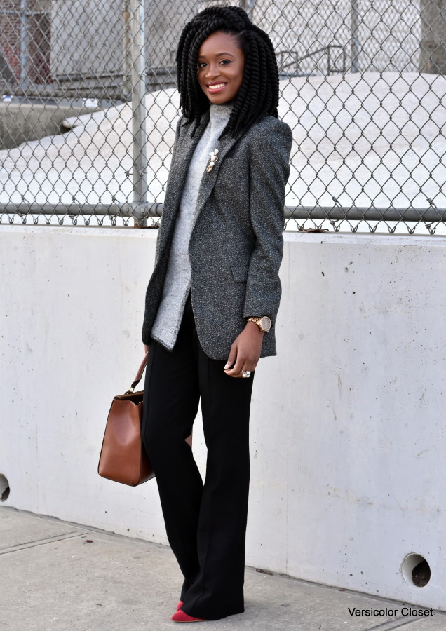 Wide leg pants & boyfriend blazer (1)