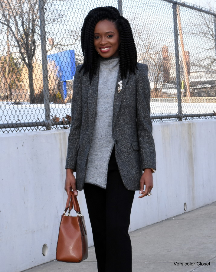 Wide leg pants & boyfriend blazer (3)