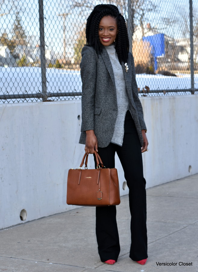 Wide leg pants & boyfriend blazer (6)