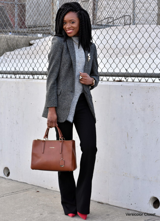 Wide leg pants & boyfriend blazer (8)