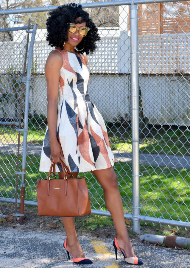 patterned-dress-colorblock-shoes-5