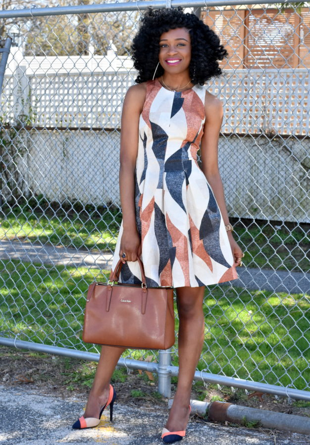 patterned-dress-colorblock-shoes-7