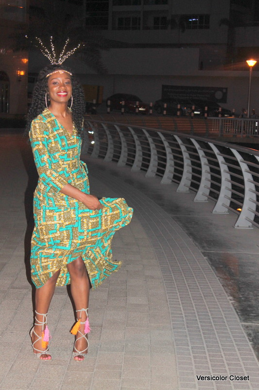 Dubai Marina in Ankara dress (5)