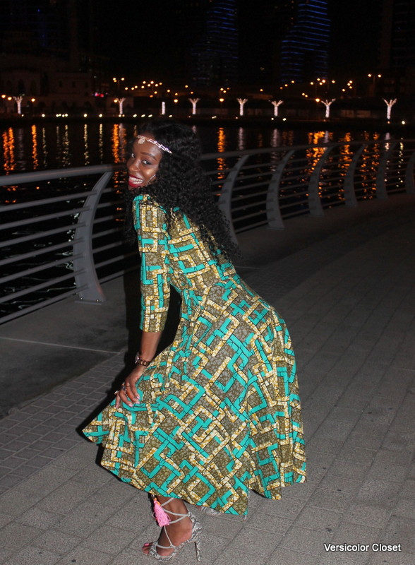 Dubai Marina in Ankara dress (8)