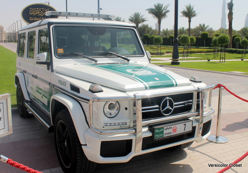 G wagon at Za'abeel palace