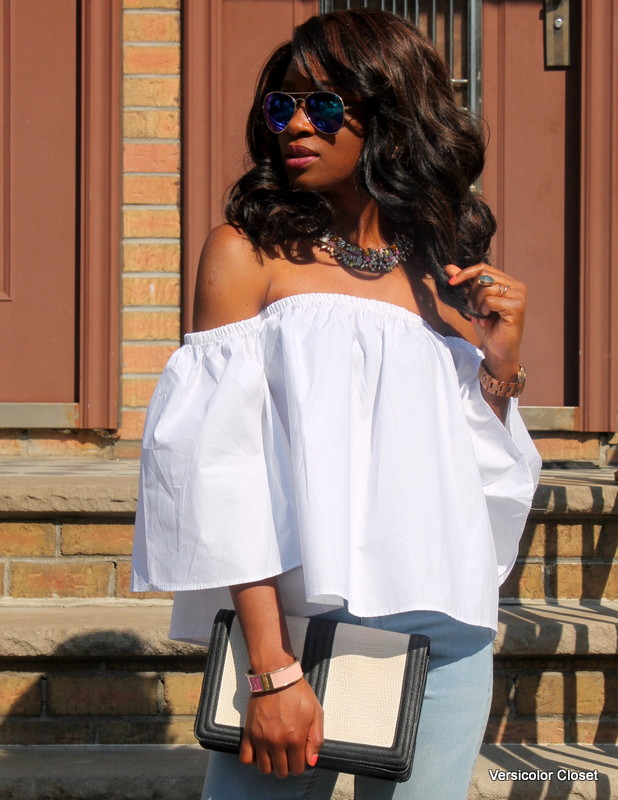 How to wear an off the shoulder top this summer (3)