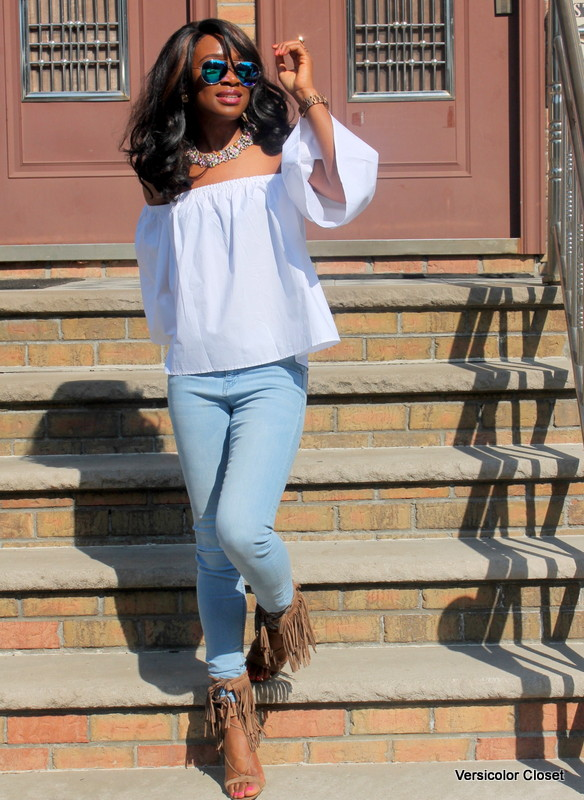 How to wear an off the shoulder top this summer (4)
