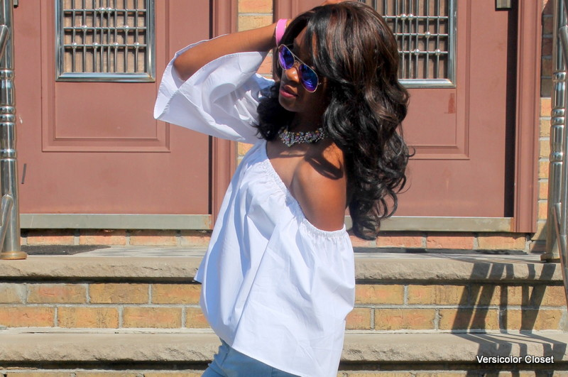 How to wear an off the shoulder top this summer (7)