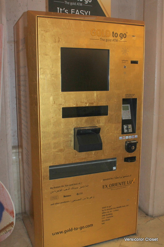 gold ATM at atlantis