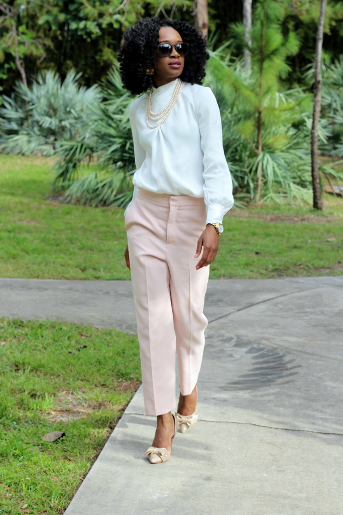 How to wear high waist trousers