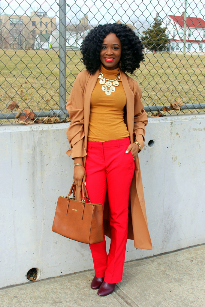 what color goes with red, pairing red and mustard together