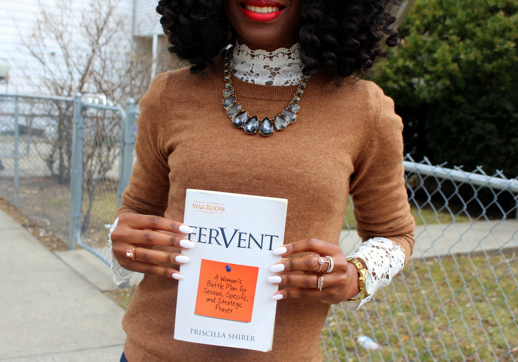 Dressing up winter layers | Book review: Fervent by Priscilla Shirer